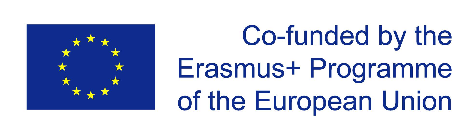 eu flag co funded re Erasmusplus