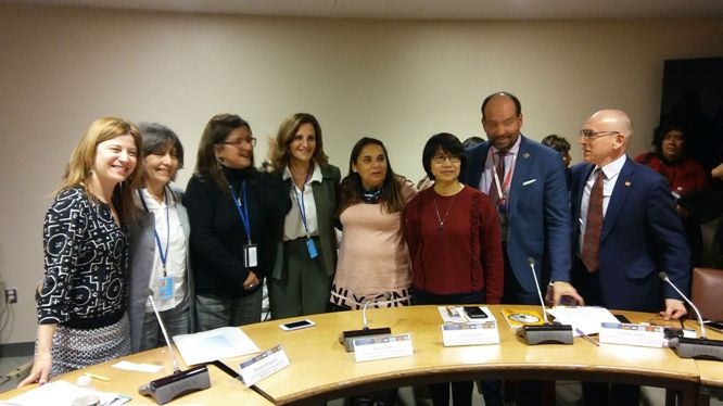 CSW63 Side Event on Domestic Work hosted by Ecuador