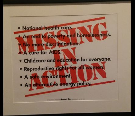 """""""Missing in action"""""""