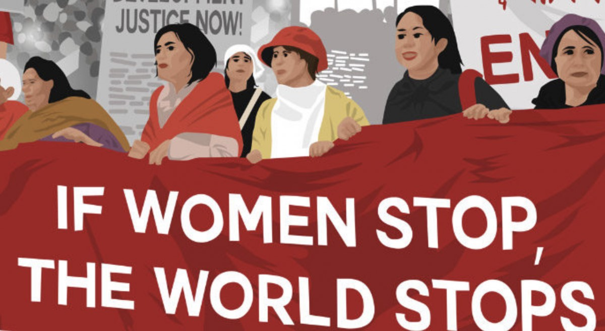 If women stop the world stops