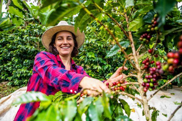 Foto Leiterin einer Kaffeegenossenschaft, Brasilien